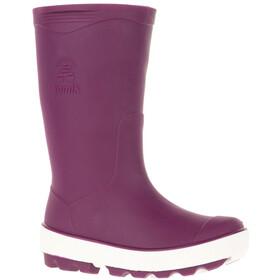 Kamik Riptide Rubber Boots Children pink